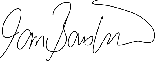 Ian Bousfield Signature